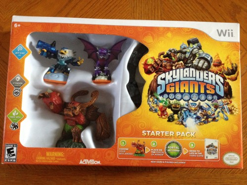 Skylanders Giants Starter Pack for the Wii