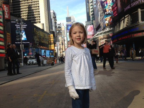 Eva takes on NYC
