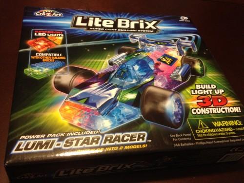 Lite Brix Lumi Star Racer