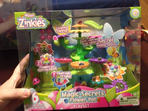Squinkies Zinkies Magic Secrets Flower Pot