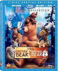 Brother Bear 1 & 2 on Blu-ray