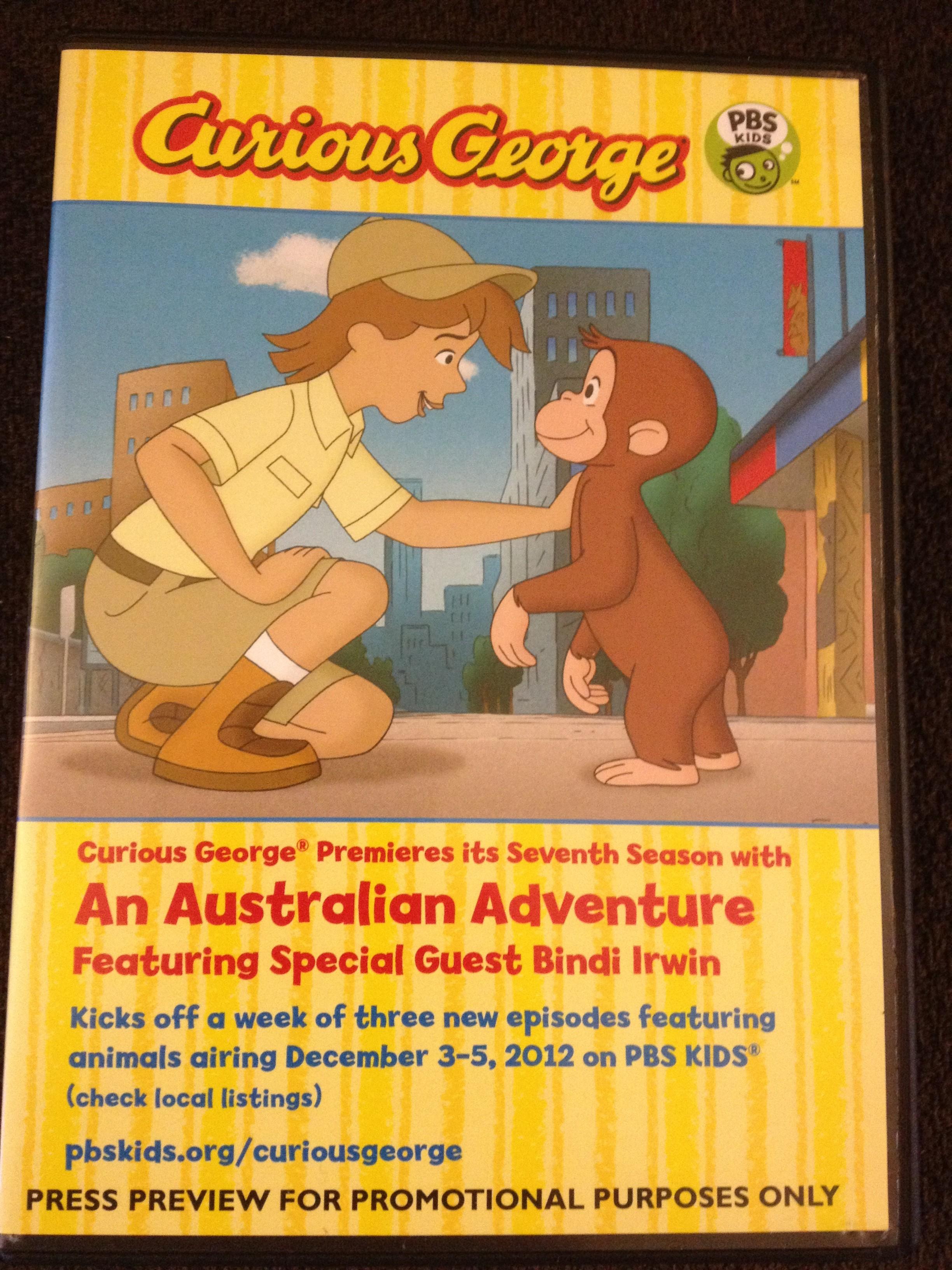 Curious George Monkey Down Under with Bindi Irwin