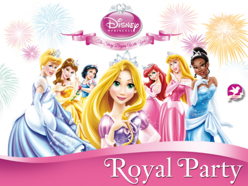 Disney Princesses Royal Party