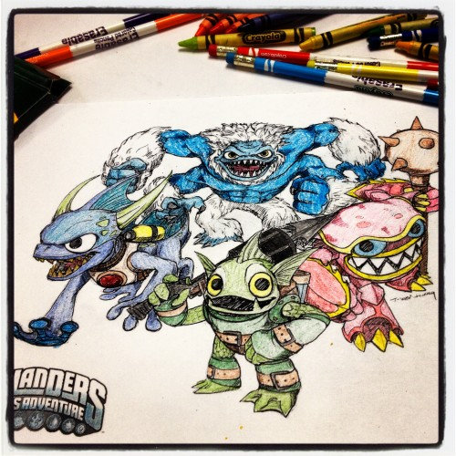 Skylanders Water Element Team