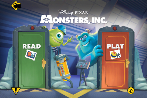 Monsters Inc Storybook Deluxe