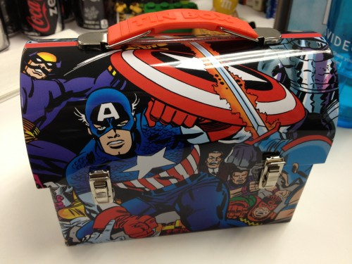 LootCrate Excelsior Captain America Workman Tin