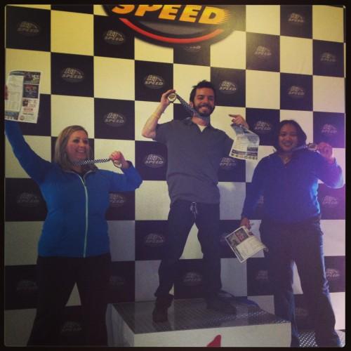 Go-Kart Winners