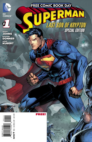 Free Comic Book Day - Superman: Last Son of Krypton