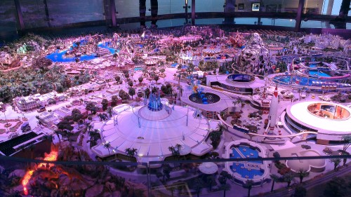 Scale Model of Disneyland according to Disney's vision