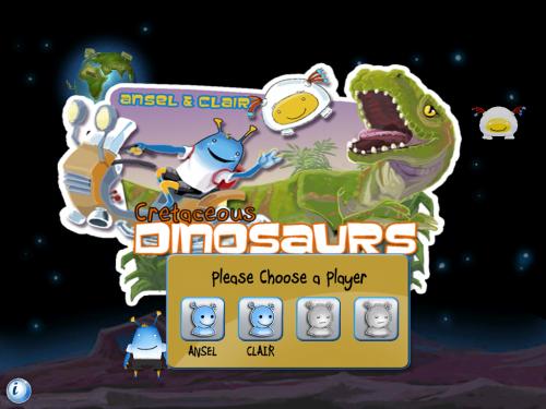 Ansel & Clair Cretaceous Dinosaurs