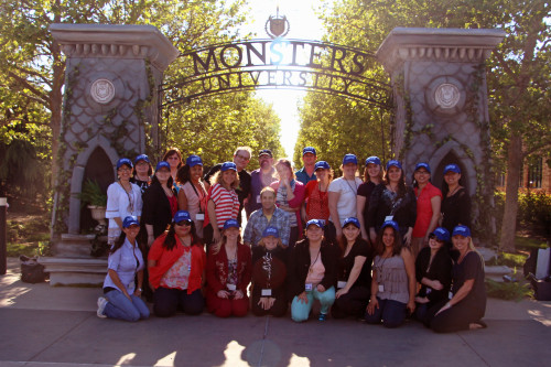 Monsters University Bloggers on Campus high
