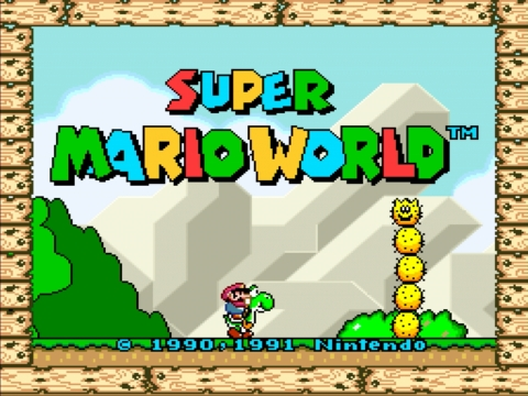 Super Marios World on the Wii U Virtual Console