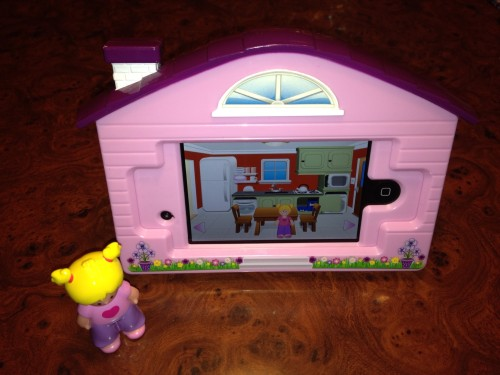 The Appventures Virtual Dollhouse case.
