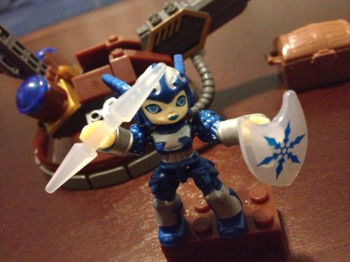Sky Turret Defense - MEGA Bloks Skylanders Giants set with Chill