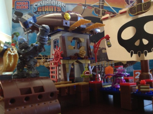 MEGA Bloks Skylanders Giants Crusher's Pirate Quest