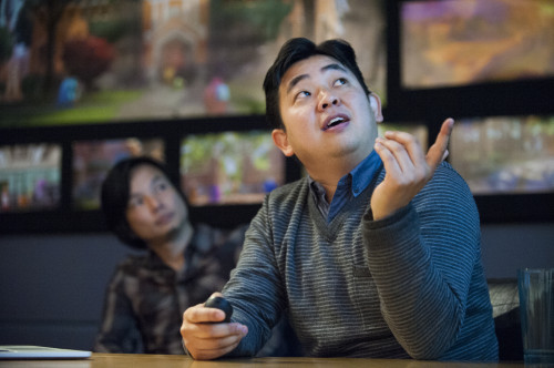 "Art Director, Robert Kondo talks to press about ""monsterizing"" the world of MU"