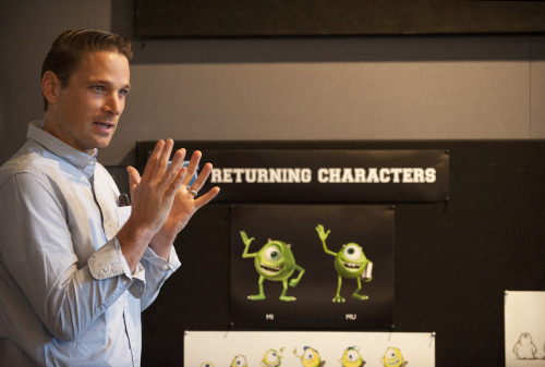 Character Art Director, Jason Deamer talks to press about character design