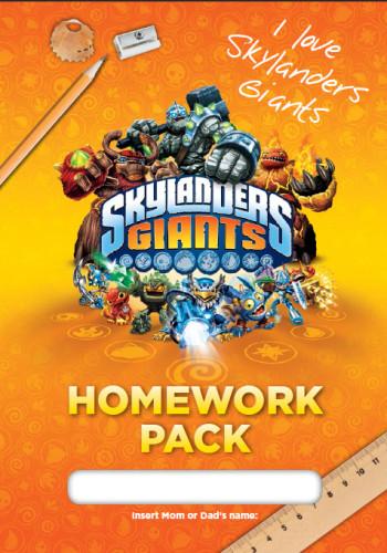 Skylanders Homework