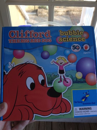 Bubble Science with Clifford the Big Red Dog from The Young Scientists Club