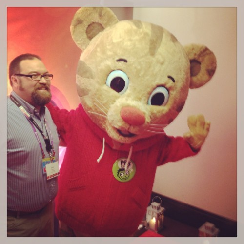 Me With Daniel Tiger