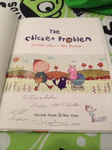 The Peg + Cat book signed