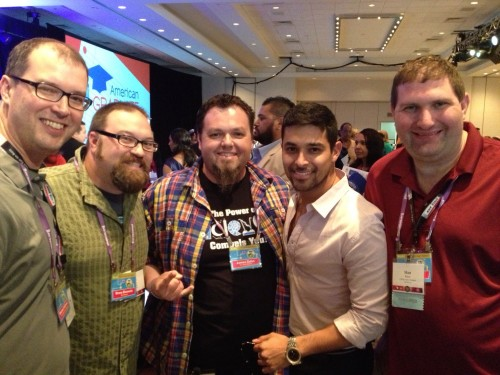 The VIP Dads with Wilmer Valderrama