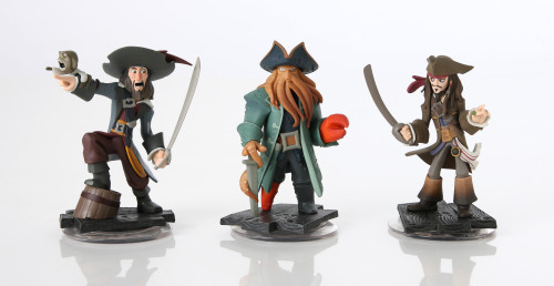 Pirates of the Caribbean Figures from Disney Infinity