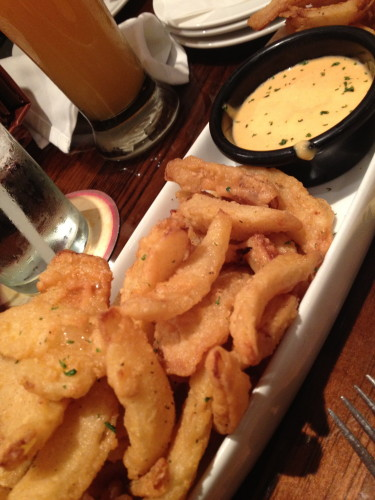 Our appetizer, the Texas Tonion®