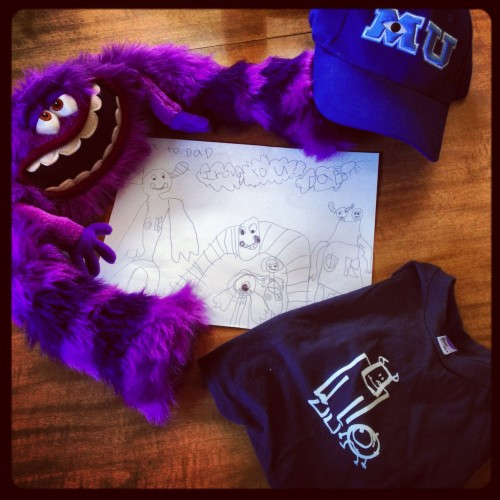 Some Monsters University Swag