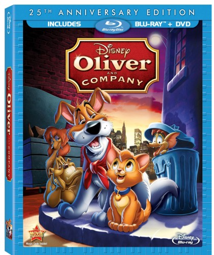 Oliver and Company 25th Anniversary Blu-ray