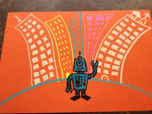 Crayola Neon Extreme Coloring Robot