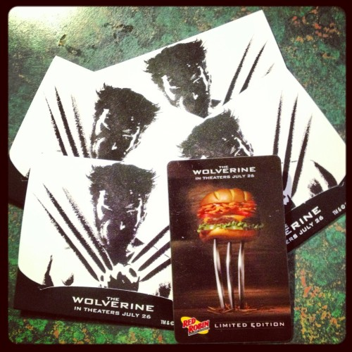 Red Robin, The Wolverine Gift Cards
