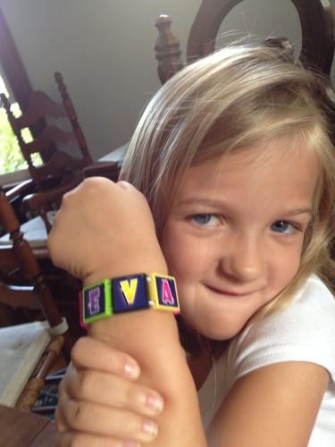 Eva's new Bracelet