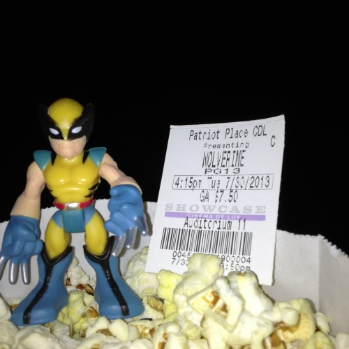 Wolverine at the Movies