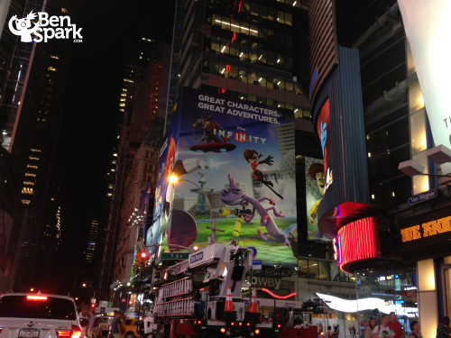 Disney Infinity in Times Square