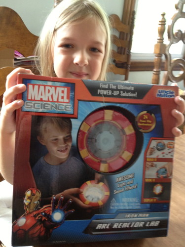 Iron Man Arc Reactor Lab from Uncle Milton's Marvel Science Series
