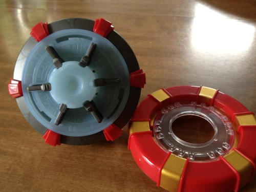 Arc Reactor with Cover Off