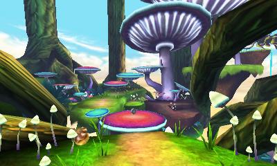 Skylanders SWAP Force 3DS Environment Toad Stool Terrace