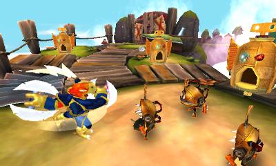 Skylanders SWAP Force 3DS Free Ranger