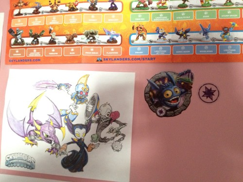 Pop Fizz on the Skylanders Wall