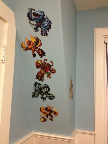 Skylanders Giants in the Office