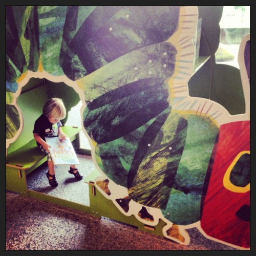 Andrew is a future Reader at the Eric Carle Museum