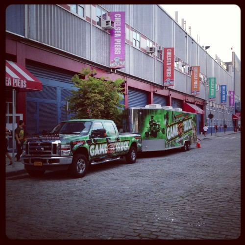 Gametruck at Chelsea Piers