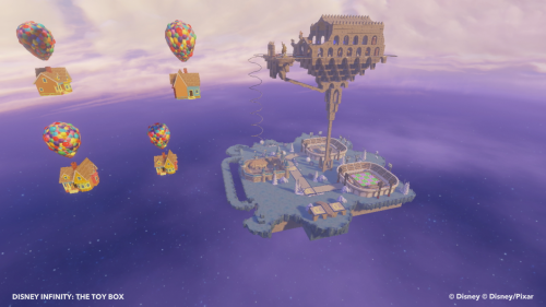 Disney Infinity Floating Castle Toy Box Mode
