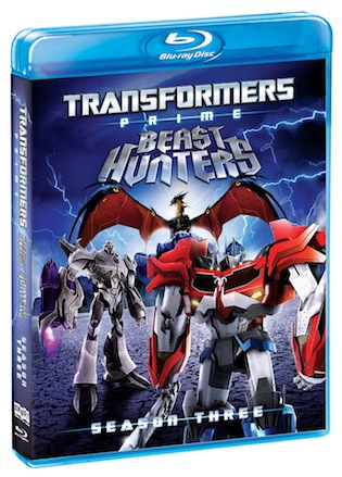 Transformers Prime on Blu-ray