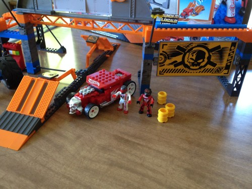 The MEGA Bloks Hot Wheels Super Stunt Test Facility