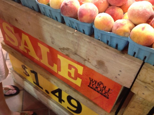 Decent Sales on Peaches