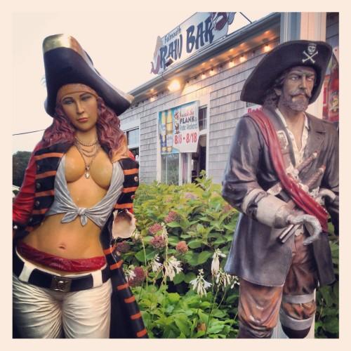 Raw Bar Statues