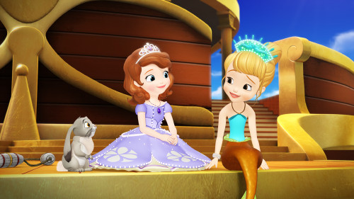 "SOFIA THE FIRST - ""The Floating Palace"" (DISNEY JUNIOR) CLOVER, PRINCESS SOFIA, PRINCESS OONA"