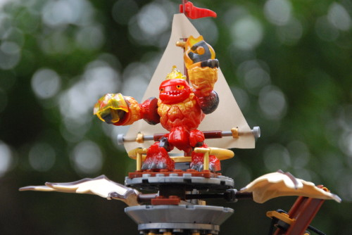 MEGA Bloks Skylanders Swap Force Hot Head